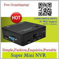 Wholesale SUPER MINI NVR Network Digital Video Recorder with ONVIF2.0 & above IP Camera Compatible from china suppliers