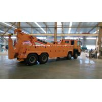 Wholesale 8x4 Wheels 420 horsepower 3 sections boom any color 100 tons wrecker tow truck from china suppliers