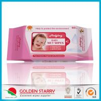 Wholesale Newborns Unscented Alcohol Free Baby Wipes Chemical Free Non Woven from china suppliers