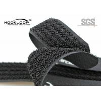 """Wholesale 3 / 4"""" Black One Sided Velcro Hook And Loop Strap For Clothes / Raincoat from china suppliers"""