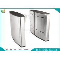 Wholesale Electric Indoor Wing Flap Barrier Gate Turnstile Subway Or Metro Access from china suppliers