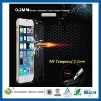 Wholesale Ballistic Nano 0.2mm Tempered Glass Smartphone Screen Protector Ultra Slim For Iphone 6 from china suppliers