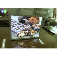 Wholesale A2 Size Custom Snap Frame LED Light Box Poster Holder Wall Mounted 100V - 240V from china suppliers
