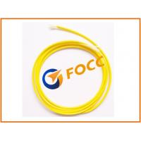 Wholesale Outdoor 3.0mm LSZH Single Mode Fiber Optic Cable With Yellow Outer Sheath from china suppliers