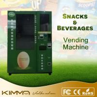 Buy cheap Eggs / Warm Food / Noodles Fresh Food Vending Machine With Automatic Elevator from wholesalers