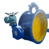 Wholesale Dia. 50 - 3000 mm Electric / Manual Flanged Butterfly Valve For Hydropower Equipment from china suppliers