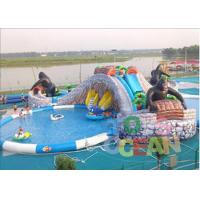 Wholesale Extrior Amazing Inflatable Amusement Park Security For Children from china suppliers