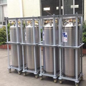 Buy cheap 175L Cryogenic Liquid xygen/Nitrogen/Argon Cryogenic Cylinder Dewar Bottle TL175L from wholesalers