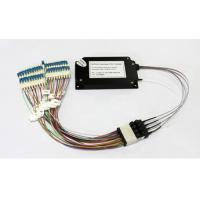Wholesale 100G Athermal AWG Mux Demux / 40CH AAWG for outdoor networks from china suppliers