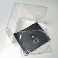 China Automatic Machine Grade 10.4mm Jewel CD Case, Designed for Gima or Ilsemann Packing Machines on sale