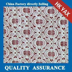 Wholesale 2014 china factory wholesale  Fashion new design cotton/nylon lady dress lace fabric YAXL-2327 from china suppliers