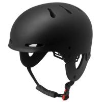 Wholesale Black professional whitewater kayak helmet for your head protection EN1385 from china suppliers