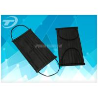 Wholesale Black Disposable Face Mask Earloop With Activated Carbon 4ply from china suppliers