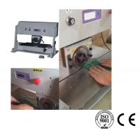 Wholesale Motorized Pre Scored PCB V Cut Machine Stainless Steel Platform Conveyor Belt Transport from china suppliers