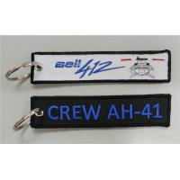 Wholesale Bell 412 Crew AH-41 Fabric Key Chain Aviation Tags from china suppliers
