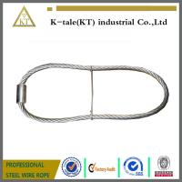 Wholesale rigging wire rope sling  stainles steel wire rope sling with ferrule and iron wire made in china from china suppliers