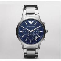 Wholesale Emporio Armani Watch AR2448 Chronograph Stainless Steel 43mm, 5ATM WR from china suppliers