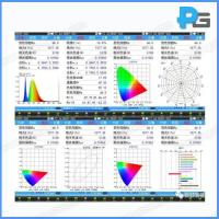 Buy cheap Hand-Held Colorimeter for LED test CCT, CRI, chromaticity coorinates, Lux, Wavelength from wholesalers
