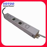 Wholesale IP67 2A 24W Waterproof Power Supply , 12VDC Power Supply LED Driver Adaptor from china suppliers
