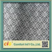 Wholesale Knitted Chinese Printing Auto Upholstery Fabric Grey  For Seat Cover / Lining from china suppliers