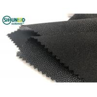 Wholesale Eco-friendly Double Dot Twill woven fusible interlinings for business casual suit  Fusing Interlining from china suppliers