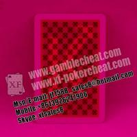 Buy cheap XF Copag 100% plastic marked cards for IR contact lenses|perspective glasses|invisible ink|cards cheat|game cheat from wholesalers