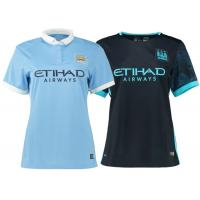 Wholesale Women Team Uniform Soccer , Womens Soccer Apparel Manchester City Home Polo Shirt Away from china suppliers