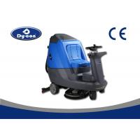 Wholesale Blue / Grey Hard Floor Cleaner Machine For Railway Station Energy Saving from china suppliers