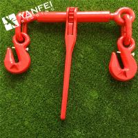 Wholesale EN12195-3 G80 Ratchet Type Load Binder With Winged Grab Hook from china suppliers