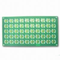 Wholesale HDI Board with PTH of 0.3mm, 0.5 ±0.1mm Finish Thickness, and 5mil Minimum Spacing from china suppliers