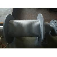 Wholesale SS355 Material Grooved Winch Drum , Wire Rope Hoist Drum Design Customized from china suppliers
