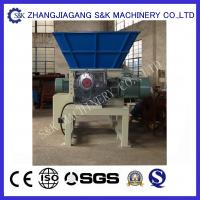 Wholesale 18rpm Wood Crusher Machine Double Shaft Shredder Equipment for Recycling tree branch from china suppliers