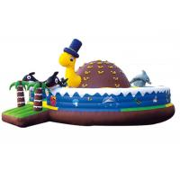 factory supply happy turtle bouncer 2 in 1 combo inflatable bouncy castle climb