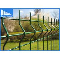 Wholesale 2500mm Nylofor 3D Fence Panel , Weld Mesh Panels Square / Round Post from china suppliers