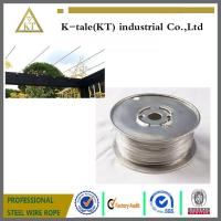 Wholesale Cable Railing for Pergola /stainless steel wire rope for pergolas and plant training from china suppliers