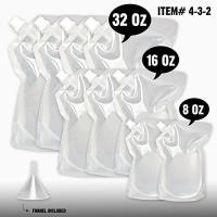 Wholesale PE PET NY Concealable Alcohol Rum Runner Cruise Clear Spout Bags For Cocktail Party from china suppliers