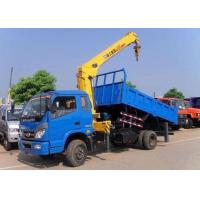 Wholesale Telescopic Boom Truck Mounted Crane 6.3 Ton For Safety Transportion from china suppliers