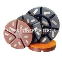 Wholesale 3'' Metal Filled Resin Bond Diamond Concrete Floor Polishing Pads Discs from china suppliers