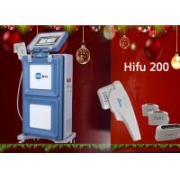 Wholesale Painless Vertical to Skin Lift HIFU Machine , High Intensity Focused Ultrasound Machine from china suppliers