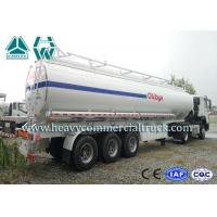 Quality Multi Functional 35 Cbm Stainless Steel Fuel Tank Semi Trailer 3 axles for sale