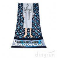 Wholesale Machine Washable Personalized Swim Towels , Summer Beach Towels For Men from china suppliers