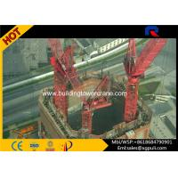 Wholesale Inside Climbing Building Tower Crane , Mobile Tower Crane Inner Erecting Type from china suppliers