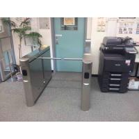 Wholesale Fingerprint Reader Drop Arm Turnstile Security Systems , Pedestrian Security Gates from china suppliers