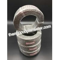 Wholesale 3 x 19 x 0.18 PT 100 Sheath Nickel Plated Copper Braided Wire Inner Fiberglass Insulation Outer from china suppliers