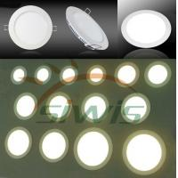 Wholesale SMD3014 LED Flat Panel Lights Round 10Watt Aluminum 12VDC / 24VDC from china suppliers