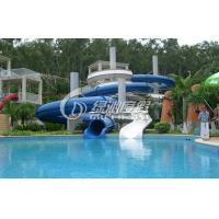 Wholesale Large Outdoor Commercial Grade Fiberglass Water Slides Swimming Pool for Kids and Adults from china suppliers