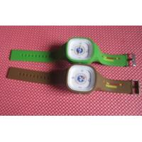Wholesale OEM high quality silicone jelly watch with silk printing logo from china suppliers