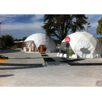 Wholesale Wooden Flooring Durable Half Sphere Geodesic Tent Dome Water Resistant Canopy from china suppliers