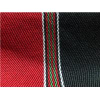 Wholesale Red and Black Striped Curtain Sadu Fabric Soft Geometric Pattern from china suppliers