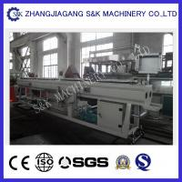Quality High Capacity Plastic Pipe Extrusion Line , Water Drainage Pipe Twin Screw Extrusion Equipment for sale